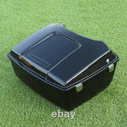 13.1 King Pack Trunk For Harley Tour Pak HD Electra Street Road Glide 1997-2013