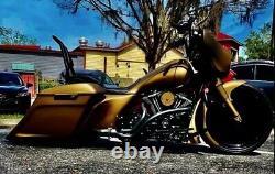 16 Backrest Sissy Bar for Harley Touring Road King Street Electra Glide Black