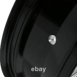 18 x 5.5'' Rear Wheel Rim & Hub For Harley Touring Road King Street Glide 08-20
