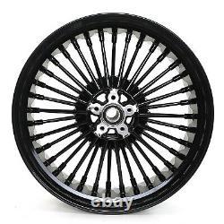 18x5.5 Fat Spoke Rear Wheel Rim for Harley Touring Bagger Road King Street Glide