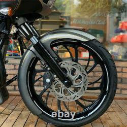 21 Wrap Front Fender For Harley Touring Electra Street Road Glide King Baggers