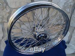 21x3.5 60 Spoke Front Wheel For Harley Ultra Road King Street Glide Touring 0