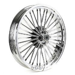 21x3.5 Fat Spoke Front Wheel ABS for Harley Bagger Road King Street Glide 09-20