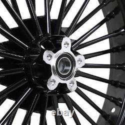 21x3.5 Front Wheel Single Dual Disc Street Bob Super Glide Softail Road King