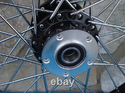 23 40 Spoke Black Front Wheel 08-up Harley Road King Street Glide Touring