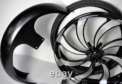 26 Inch Front End Wheel Tire Kit Harley Bagger Road Glide Street Glide Road King