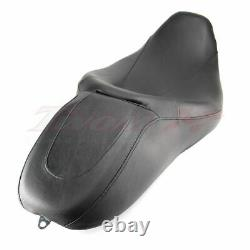 2UP Rider Passenger Seat For Harley Road King Street Glide Touring FLH 2008-2019