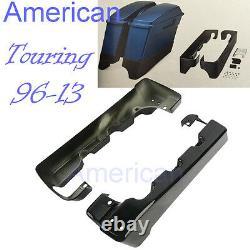 4 Stretched SaddleBag Extension Kit For Harley Electra Street Glide Road King