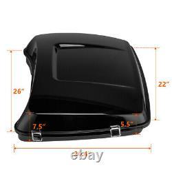 5.5 Razor Tour Pak Pack Trunk For Touring Electra Street Road King 2014-2020