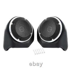 6.5'' Pack Trunk Rear Speaker For Harley Tour Pak Road King Street Glide 14-20