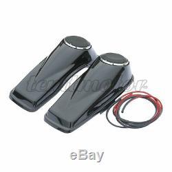 6.5 Saddlebags Speaker Lids For Harley Road King Street Electra Glide 2014-2020