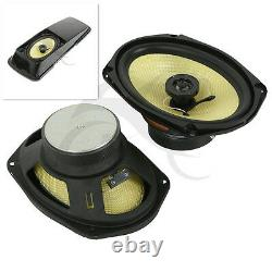 6 x 9 Saddlebag Speakers For Harley Electra Street Tour Glide Road King 93-13