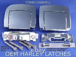 6pairs For Harley Tour Pack Pak Pac 12 Latches Electra Street Road Touring King