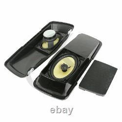 6x 9 Saddlebags Lid & Speaker For Harley Touring Street Glide Road King 94-13
