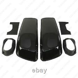 6x9 Speaker Lids for 2014-2021 Harley Saddlebags Street Road King Glide