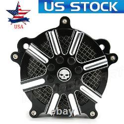 Air Cleaner Intake Filter For Harley Road King Street Glide Softail Low Rider