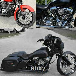 Air Cleaner Intake Filter For Harley Touring Road King Street Electra Glide