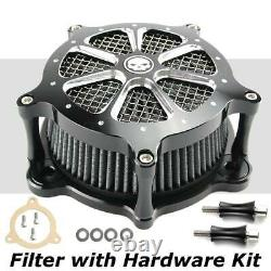 Air Cleaner Intake Filter For Harley Touring Road King Street Glide FLHR/X 08-16