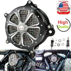 Air Cleaner Intake Filter For Harley Touring Street Road Glide Road King 08-2016