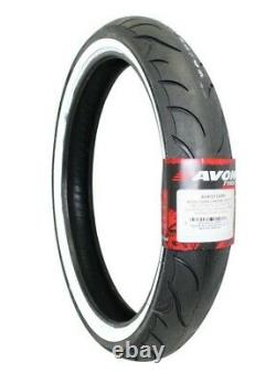 Avon Cobra 120/70-21 White Wall Front Tire Harley Road King Street Glide Electra