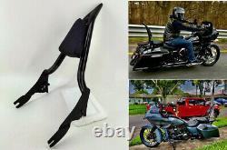 Backrest Sissy Bar for Harley Davidson CVO Road Glide / Street Glide / Road King