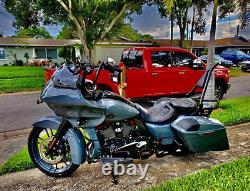 Backrest Sissy Bar for Harley Street Road Electra Glide Touring Road King 09-20