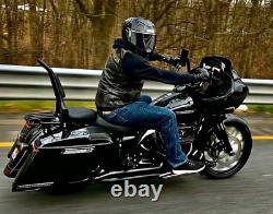 Backrest Sissy Bar for Harley Touring Road Street Electra Glide Road King Chrome
