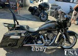 Backrest Sissy Baror For Harley Touring Street Glide Road Glide Road King 09-20