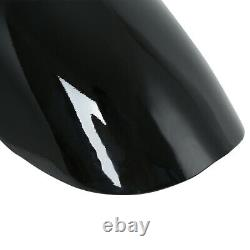 Black 23 Wrap Front Fender For Harley Touring Electra Street Road Glide King