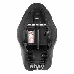 Black Driver Rider Passenger Seat Fit For Harley Street Glide Road King 09-20 19