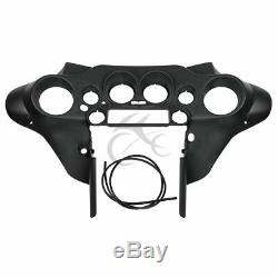 Black Front Inner Fairing Fit For Harley Electra Road King Street Glide 96-13