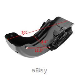 CVO Rear Fender System For Harley Touring Road King Electra Street Glide 2009-13