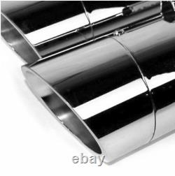 Chrome Monster 4.5 Exhaust Mufflers Harley Electra Glide Road King Street 95-16