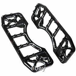 Cross Country Front Driver Floorboards For Harley Street Glide Road King FLHX FL