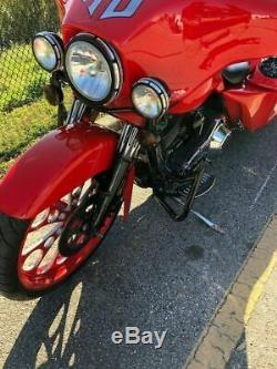 Custom Engine Guard Highway Crash Bar 4 Harley Touring Road King Street Glide