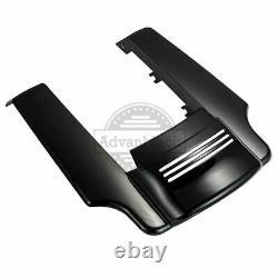 Denim Black Stretched Rear Fender Extension 09+ Road King Street Glide Special