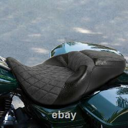 Driver Passenger Rear Seat Fit For Harley Touring Street Glide Road King 09-20