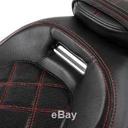 Driver Passenger Seat Fit For Harley Touring Road King Street Road Glide 09-20