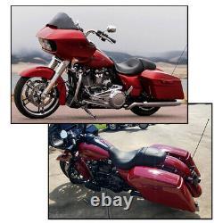 Driver Passenger Seat For Harley Touring Street Glide FLHX Road King FLHR 08-21
