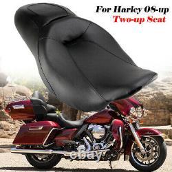Driver Passenger Seat For Harley Touring Street Glide Road King FLHR FLHX 08-21