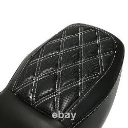 Driver Passenger Two-Up Seat For Harley Road King Classic Street Glide 1997-2007