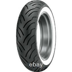 Dunlop Elite Rear Tire 180/65b16 White Harley Electra Glide Road King Street