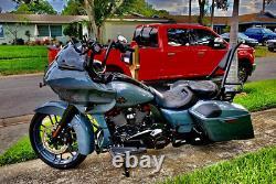 For Backrest Sissy Bar Harley Davidson CVO Road Glide Street Touring Road King