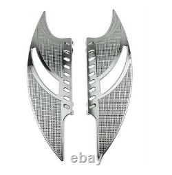 Front Rear Floorboards Foot Peg For Harley Road King Street Glide Softail Dyna