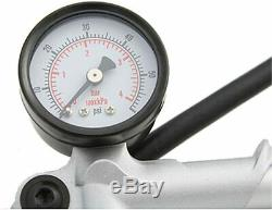 Hand Air Pump 60 PSI for Air Shocks Harley Touring Ultra Road King Street Glide