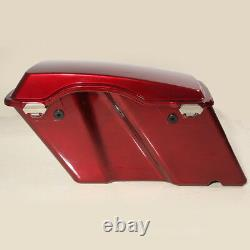Hard Saddlebags Saddle Bags Fit For Harley Touring Road King Street Glide 94-13