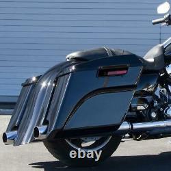 Hard Saddlebags Trunk For Harley Davidson Touring Electra Street Road Glide King