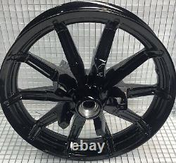 Harley Impeller Front Wheel Gloss Black 2014 Road King Street Glide (exchange)