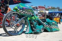 Harley bagger 32'' don juan torq wheel street glide road king ultra classic