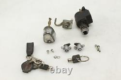 Harley-davidson Electra Glide Road King Street Ignition Key Lock Switch With Gas